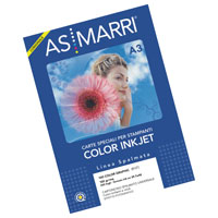 CARTA COLOR GRAPHIC SPALMATA GR.100 A3 FG.200 MARRI 8107