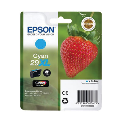 INK EPSON STYLUS T299240 CIANO XL