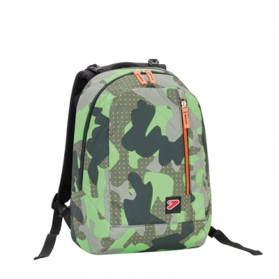 ZAINO DOUBLE BPACK SEVEN COLOR CAMOUFLAGE